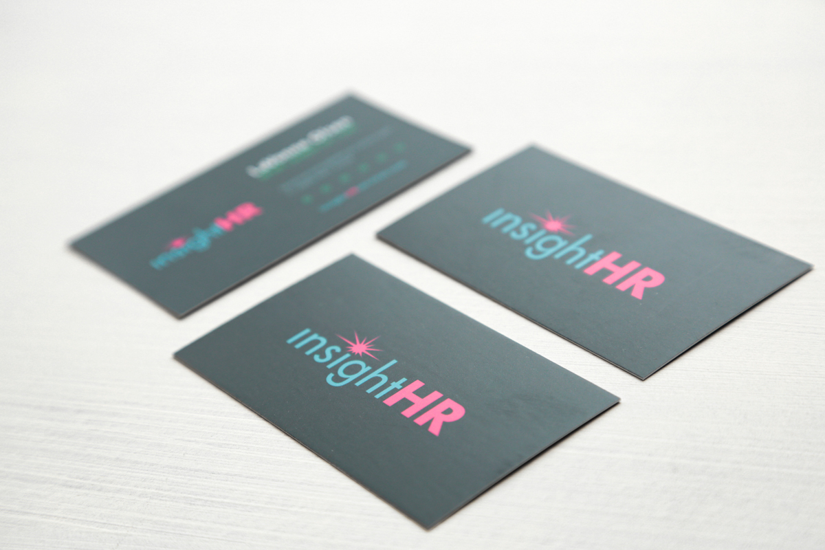 InsightHR Consulting Business Card-Branding